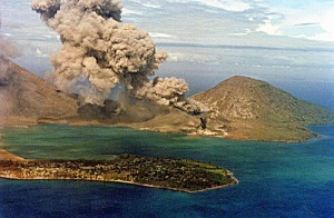rabaul eruption